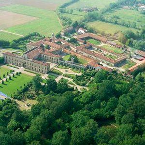 Villa Arconati Crivelli - Il Castellazzo di Bollate: Aerial view