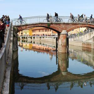 Gaggiano: ponte sul Naviglio Grande