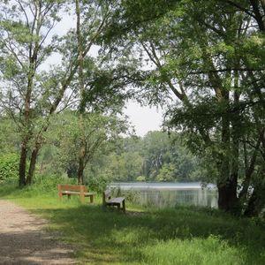 La quiete del Lago Mulino di Cusico, dopo il passaggio della scolaresca!