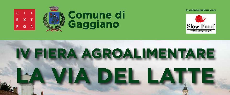 """Manifestazione agroalimentare """"Via Lattea"""" in collaborazione con F.A.I. e Slow Food dell'Abbiatense"""