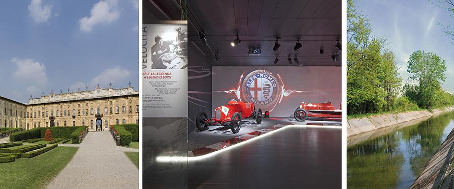 Domenica 21 maggio 2017, giornata in bicicletta sul LET1 con visita al Museo Storico Alfa Romeo