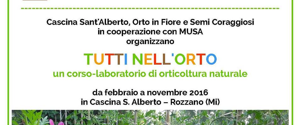 """Al Museo Salterio """"Tutti nell'orto"""": un corso laboratorio di orticoltura!"""